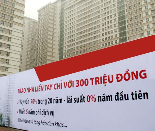 Vay 2 tỷ mua nhà: Chưa nới đã thấy khó với
