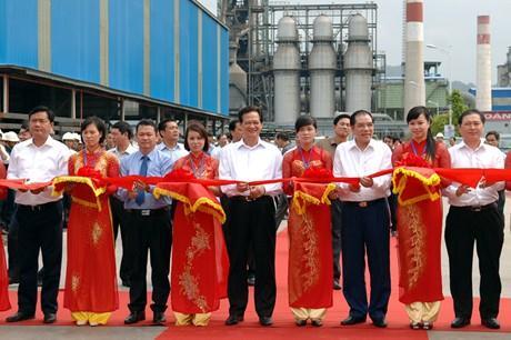 Khánh thành Nhà máy gang thép hơn 2 nghìn tỷ tại Lào Cai