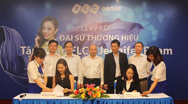 Hoa hậu Jennifer Phạm trở thành Đại sứ Thương hiệu của FLC