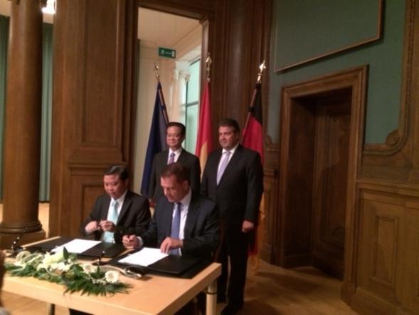 DLG hợp tác với Tập đoàn Merica Đức đầu tư dự án năng lượng 150 triệu USD