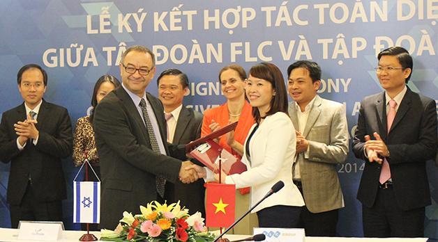 FLC ký thỏa thuận hợp tác toàn diện với YAO trong lĩnh vực nông nghiệp
