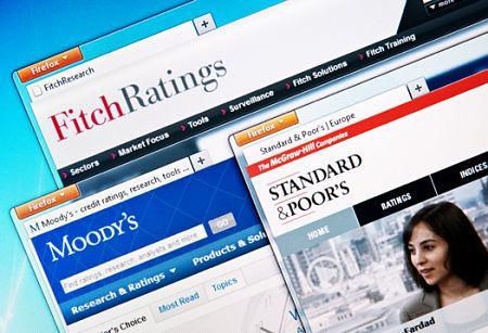 Vay nợ và việc xếp hạng tín nhiệm quốc gia của S&P, Moody's và Fitch