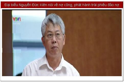Ông Nguyễn Đức Kiên: 'Tiêu tiền thì đạt, làm ra tiền lại không đạt'