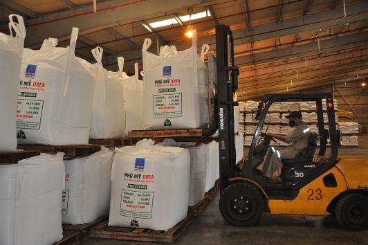 DPM xuất 500 tấn Đạm Phú Mỹ đầu tiên sang New Zealand