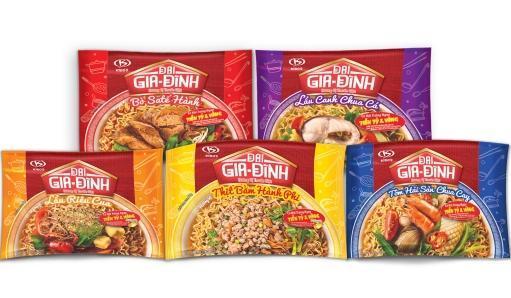 """""""Bật mí"""" thương hiệu sản phẩm mì gói mới của Kinh Đô"""