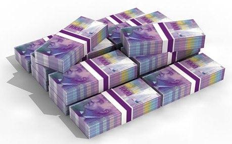 """Thụy Sỹ hạ lãi suất xuống mức âm nhằm giảm sức ép cho đồng franc trước nhu cầu """"tránh bão"""""""