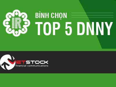 STB, DPM, DHG, VNM và FPT - Vinh danh Top 5 DNNY có hoạt động IR tốt nhất 2014