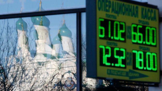 Thêm một cú sốc mới đối với kinh tế Nga