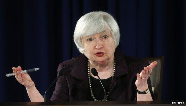 """Fed tiếp tục """"kiên nhẫn"""" nhưng có thể nâng lãi suất vào giữa năm 2015"""