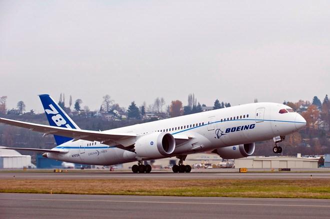 Lợi nhuận của Boeing quý 4 năm 2014 tăng gần 20%