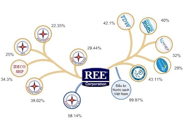 Cánh tay REE đã vươn đến đâu trong lĩnh vực điện, nước?