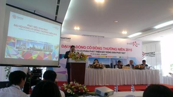ĐHĐCĐ Phát Đạt: Kế hoạch tham vọng và mở bán dự án An Dương Vương từ tháng 4