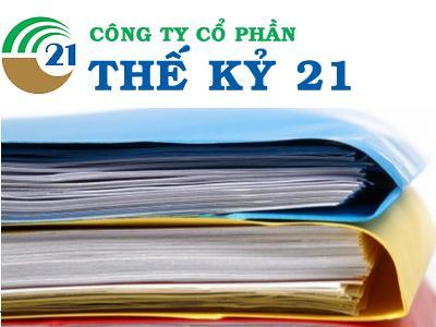 C21: Sẽ hủy niêm yết, mua lại 7 triệu cp với giá 22,000 đồng/cp