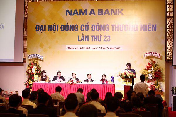 ĐHĐCĐ NamABank: Sẽ niêm yết vào quý 3/2015