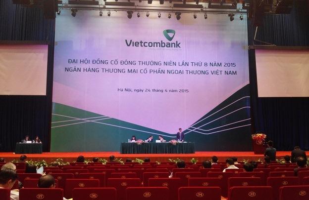 ĐHĐCĐ Vietcombank: Lờ đi... báo cáo Ban điều hành, M&A còn bỏ ngỏ