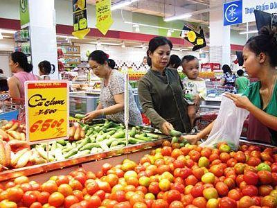 Tổng bán lẻ hàng hóa và doanh thu dịch vụ tiêu dùng 4 tháng đầu năm tăng 8.8%