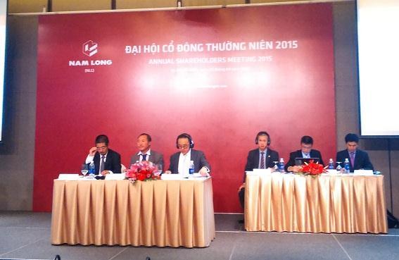 ĐHĐCĐ Nam Long: Phát hành 15 triệu cp cho cổ đông chiến lược, giá từ 19,000-21,000 đồng