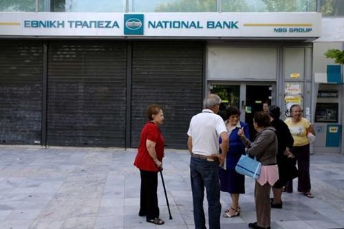 Hy Lạp tiếp tục đóng cửa ngân hàng