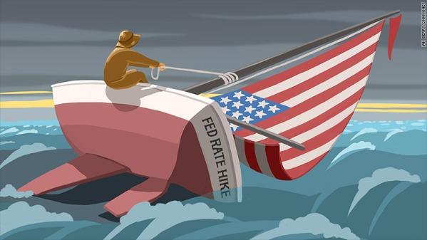 Kinh tế Mỹ ủng hộ Fed nâng lãi suất vào tháng 12