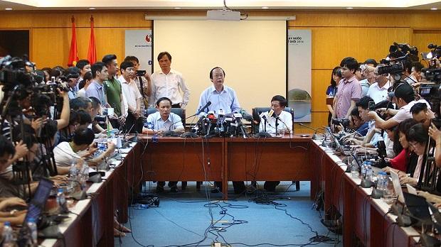 Họp báo nguyên nhân cá chết:Chưa thấy mối liên hệ với Formosa