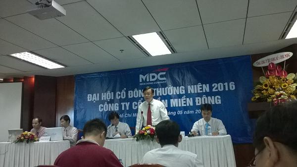 ĐHĐCĐ MDG: Điểm nóng kế hoạch kinh doanh 2016 và bài toán xây lắp