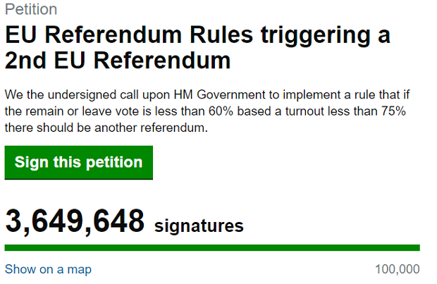 Sẽ không có cuộc trưng cầu dân ý lần 2 tại Anh?