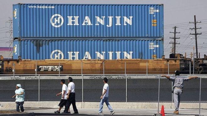 Đại gia vận tải biển Hanjin Shipping đã được cấp phao cứu sinh