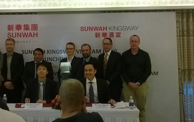 Sunwah Kingsway và Quỹ đầu tư SAM thành lập công ty liên doanh tại Việt Nam