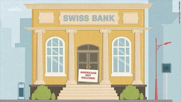Vì sao các ngân hàng Thụy Sỹ từ chối phục vụ công dân Mỹ?