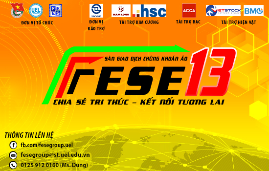 Sàn giao dịch chứng khoán ảo FESE13 - năm 2016