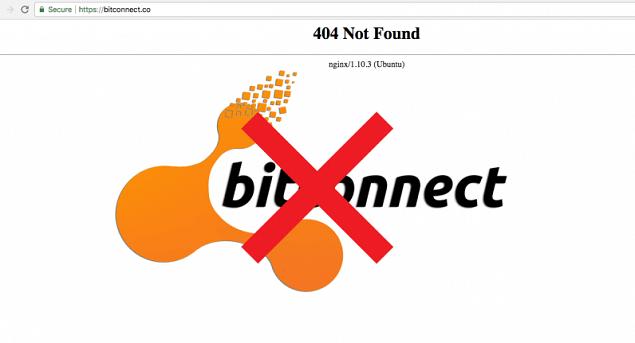 BitConnect đóng cửa sàn giao dịch và hoạt động cho vay tiền ảo