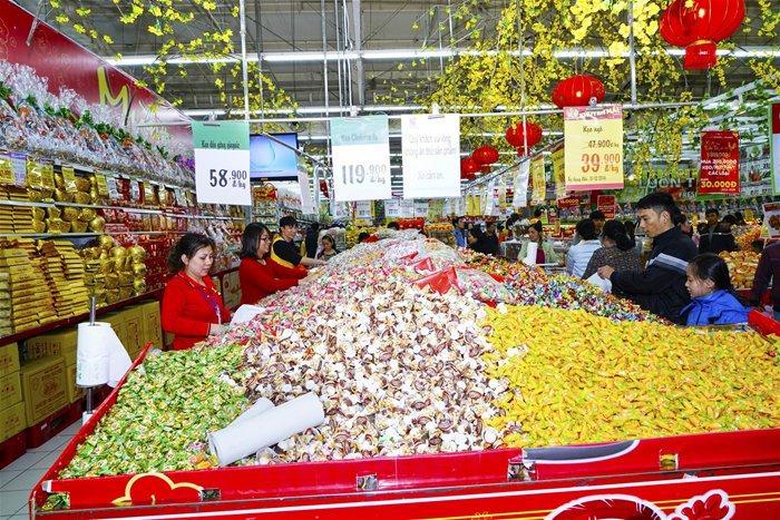Sức mua tại siêu thị bắt đầu tăng nhanh