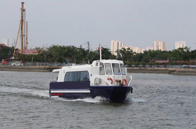 Tháng 6, TPHCM sẽ khai thác tuyến buýt đường sông đầu tiên