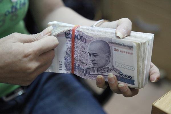 Campuchia: Tăng sử dụng đồng riel có thể giúp nâng dự trữ ngoại hối