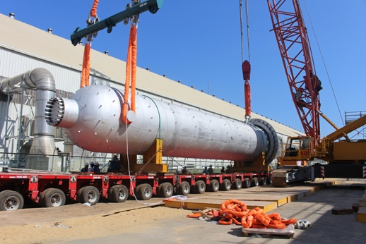DPM hoàn thành lắp đặt cụm thiết bị chính cho Tổ hợp dự án NH3-NPK