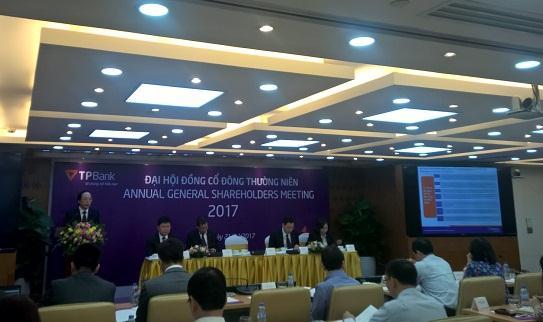 ĐHĐCĐ TPBank: Dự kiến lên sàn năm 2017, kế hoạch lãi trước thuế 780 tỷ đồng