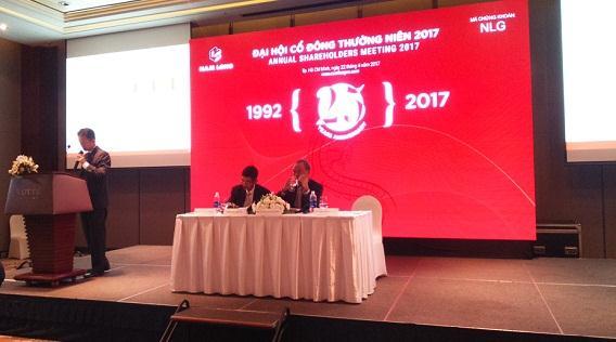 ĐHĐCĐ Nam Long: Kế hoạch 2017 bán 3,692 sản phẩm, doanh số gần 5,500 tỷ đồng