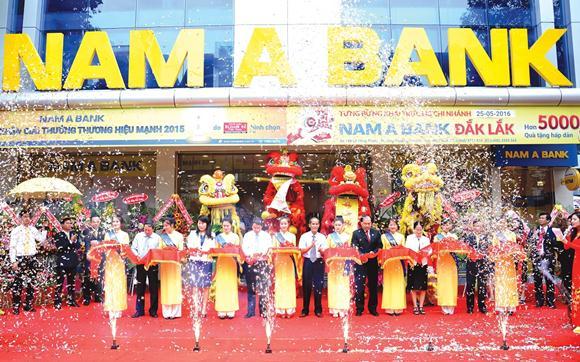 Đồng bộ hóa hình ảnh thương hiệu, NamABank sẽ ra mắt logo mới trong năm 2017