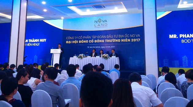 ĐHĐCĐ Novaland: Kế hoạch lãi 3,144 tỷ, tăng vốn lên gần 9,000 tỷ đồng
