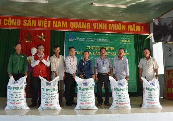 DPM hỗ trợ nông dân trồng dưa hấu ở Quảng Ngãi