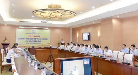 Hội nghị sơ kết thi hành Luật Hợp tác xã năm 2012 của ngành Ngân hàng