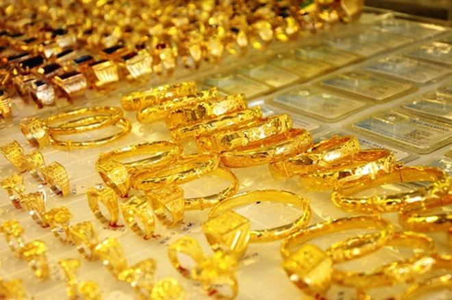 Đầu phiên giá vàng tăng 50,000 đồng/lượng