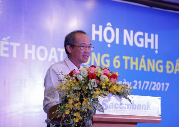 Sacombank: Chủ tịch Dương Công Minh đặt mục tiêu xử lý 20,000 tỷ đồng nợ xấu đến cuối 2017
