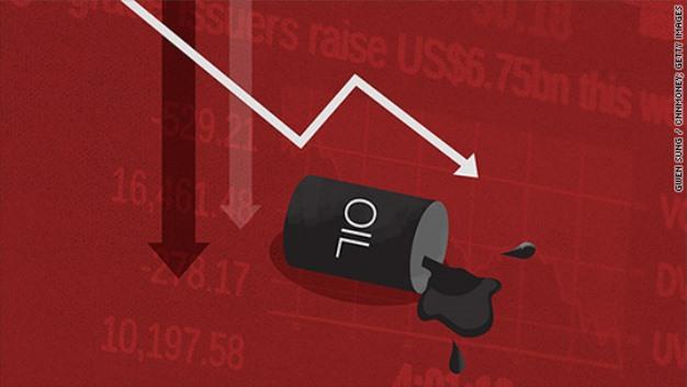 Giá dầu WTI rớt gần 3.5% sau khi dự trữ dầu tại Mỹ bất ngờ tăng vọt