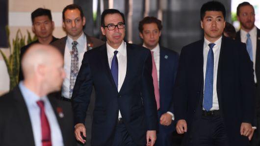 Mỹ-Trung bắt đầu đàm phán thương mại cấp cao ở Bắc Kinh