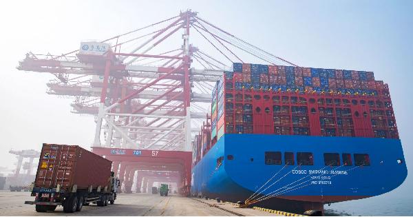 Trung Quốc công bố dữ liệu thương mại tháng 1/2019 mạnh hơn dự báo