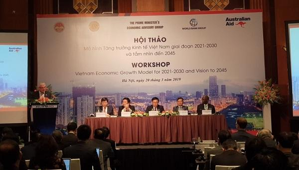 """Năm câu hỏi """"phác thảo"""" mô hình tăng trưởng kinh tế 2021-2030"""
