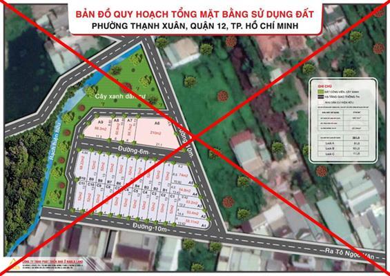 Công bố 10 dự án phân lô bán nền lô trái phép