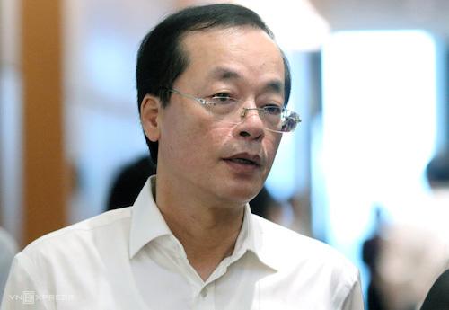 Bộ trưởng Xây dựng Phạm Hồng Hà. Ảnh: Võ Hải