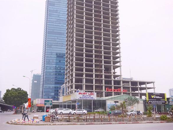 Công ty nợ nghìn tỉ Vicem xin bán nhà chính 31 tầng ở khu đất vàng - Ảnh 1.